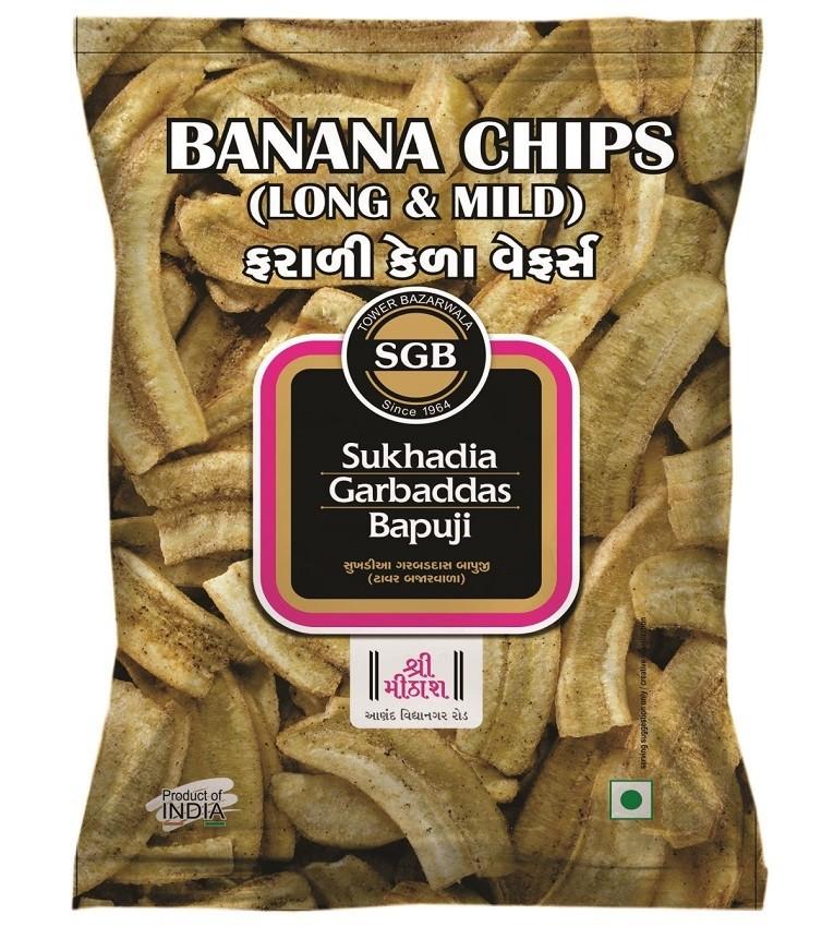 Banana Chips Long & Mild
