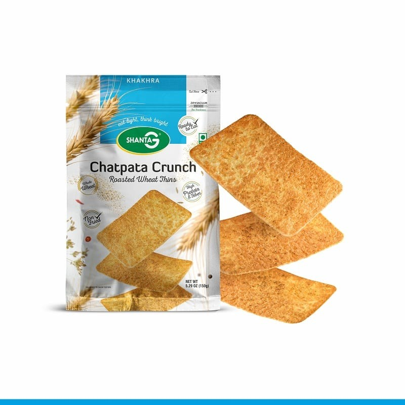 Chatpata Crunch Wheat Thins Khakhra