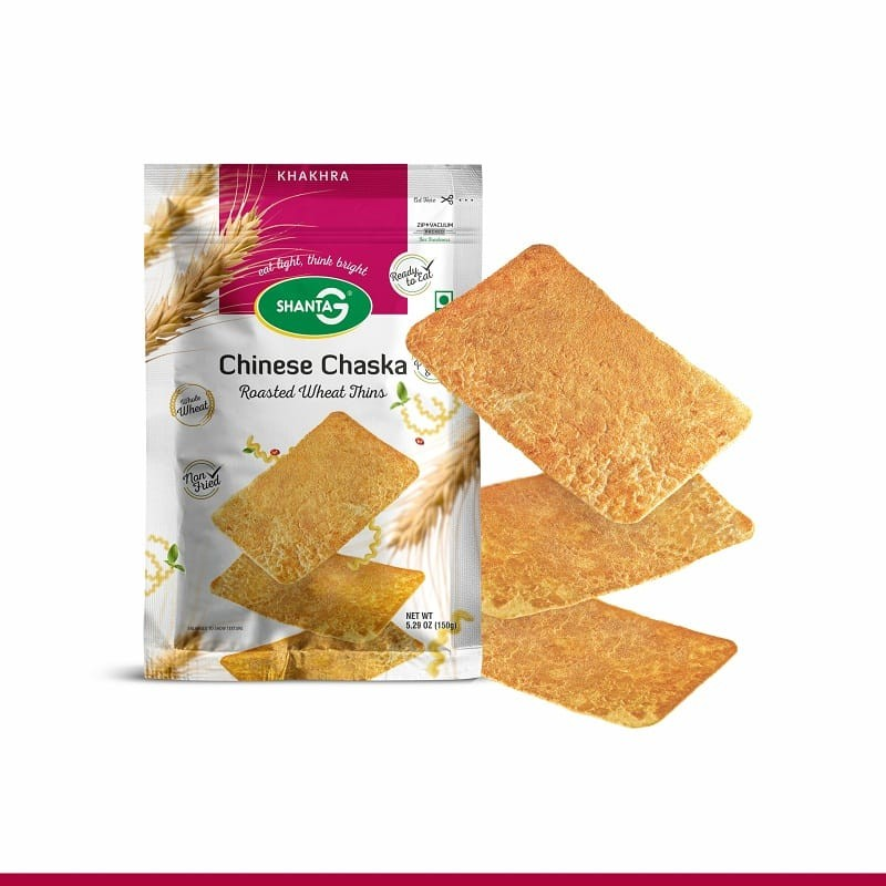 Chinese Chaska Wheat Thins Khakhra