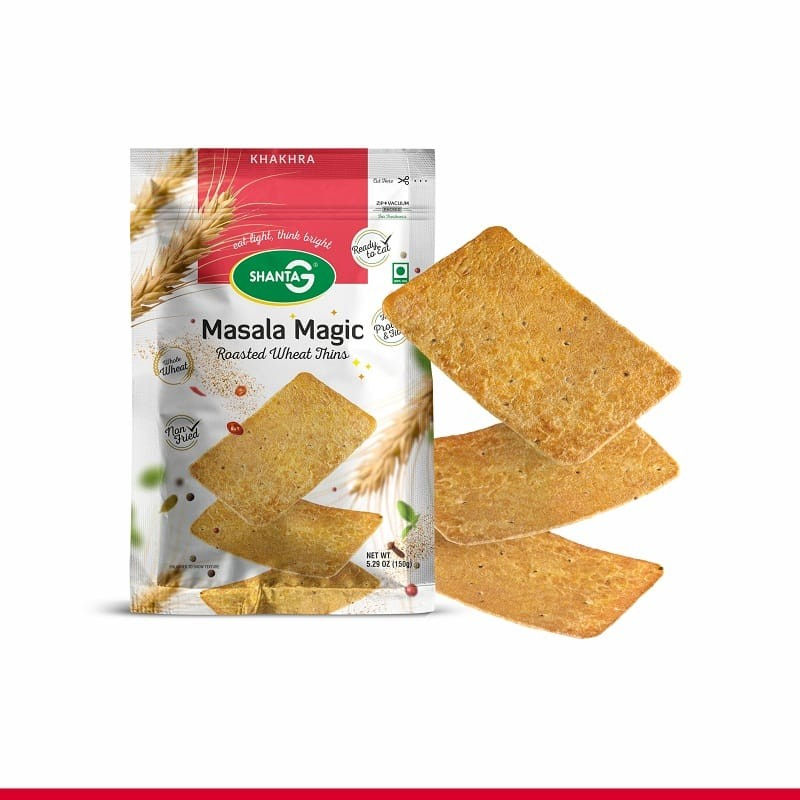 Masala Magic Wheat Thins Khakhra
