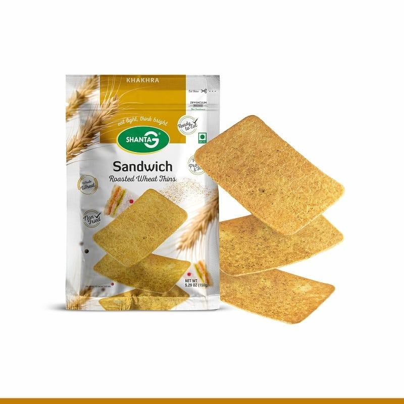 Sandwich Wheat Thins Khakhra