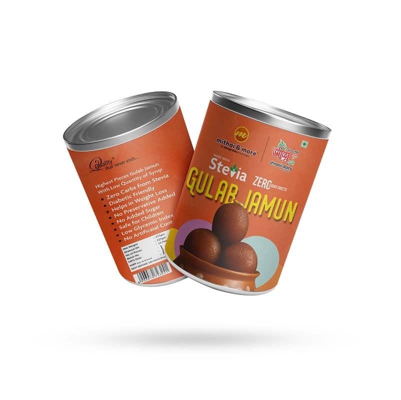 Stevia Gulab Jamun