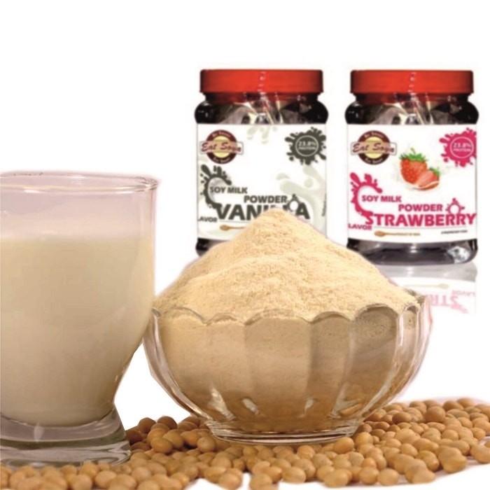 Vanilla & Strawberry Soya Milk Powders