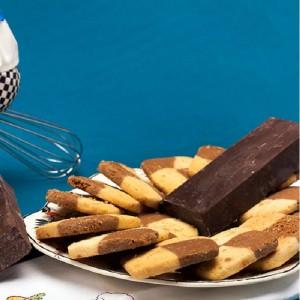 Chocolate Vanilla Biscuits