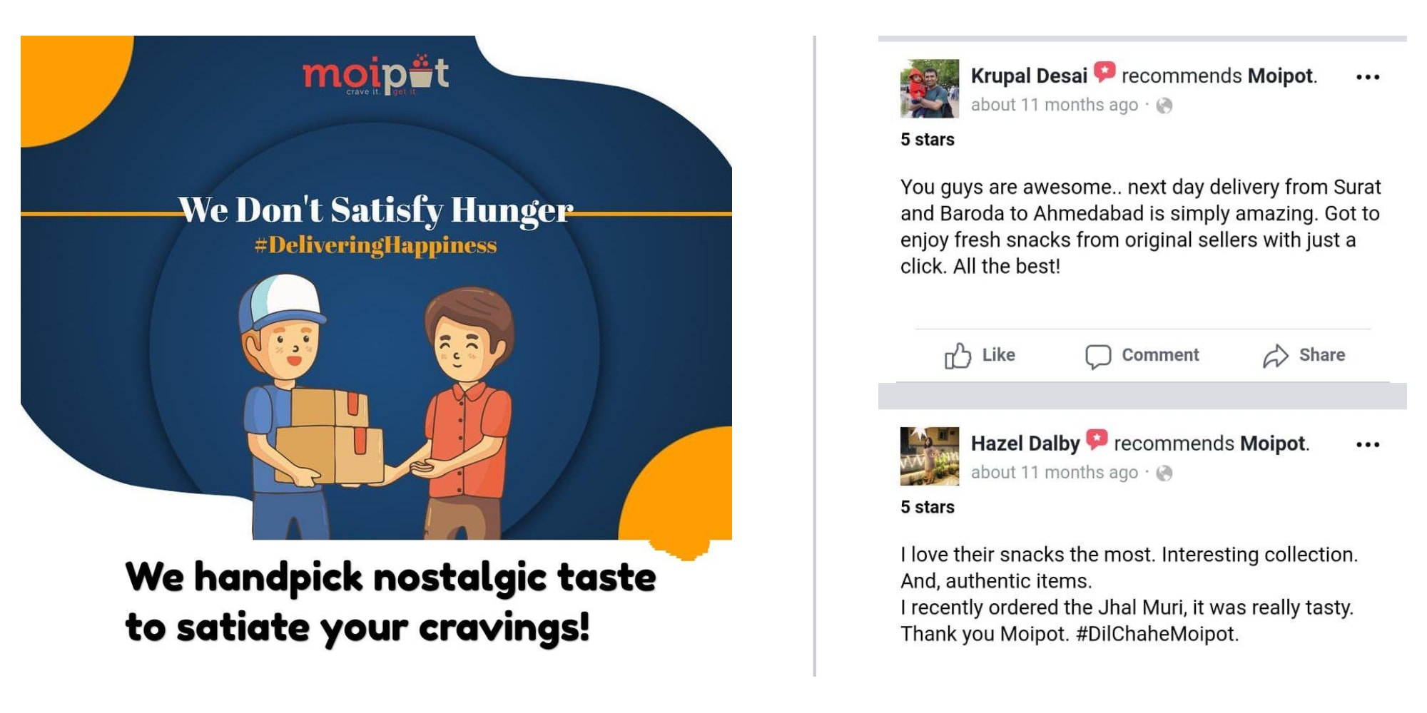 Delivering Nostalgic Happiness and Amazing Customer Reviews